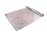 Полотно фольгированное с разметкой 105 мкр (рулон 50 м²)