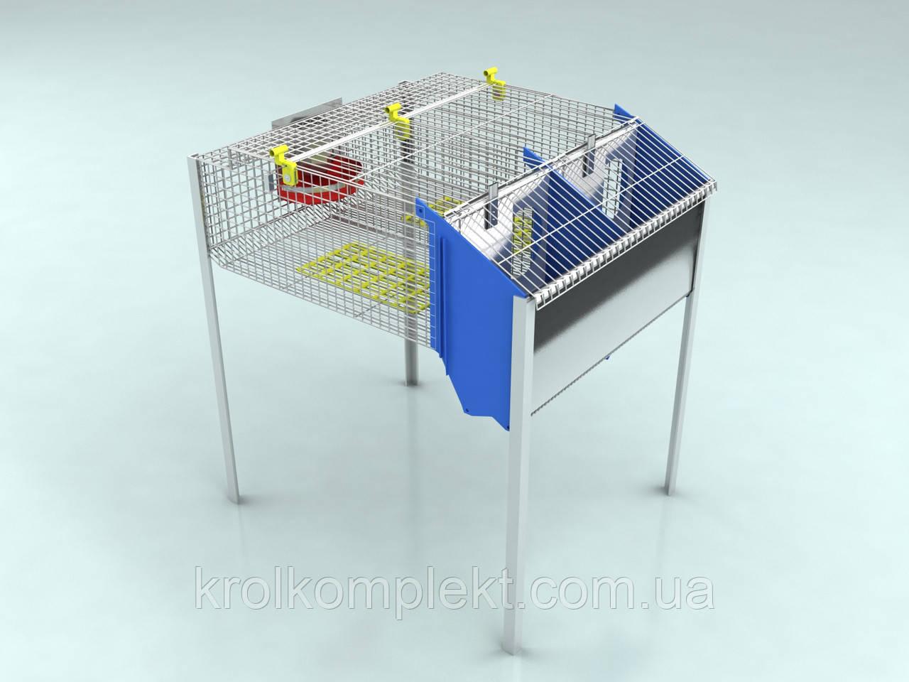 Клетка для кролика маточная  КМ-2 С.