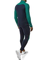 Мужской термо-костюм для занятий спортом зеленый-черный, фото 2