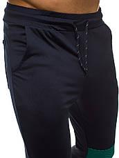 Мужской термо-костюм для занятий спортом зеленый-черный, фото 3