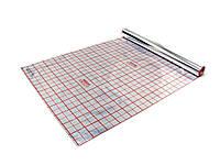 Полотно фольгированное с разметкой 45 мкр (рулон 50 м²)