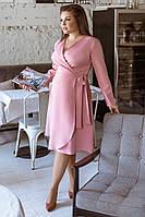 Женское платье большого размера на запах.Размеры:48-58.+Цвета, фото 1