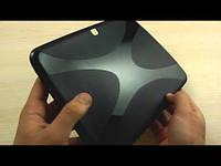 Чехол-накладка силиконовая Samsung T530 Black