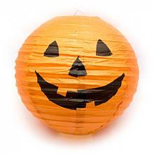 Фонарь бумажный Хэллоуин  (19 см)