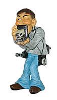 "Статуэтка ""Фотограф"" , 21 см."