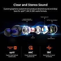 Tronsmart Spunky Beat True Wireless Bluetooth Навушники APT-X Qualcomm QCC3020 Бездротові Навушники, фото 3
