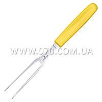 Вилка кухонная Victorinox Fibrox (150мм), желтая 5.2106.15L8B