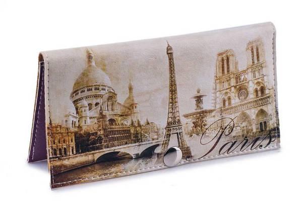 Женский кошелек -Винтажный Париж-. Ручная работа, фото 2