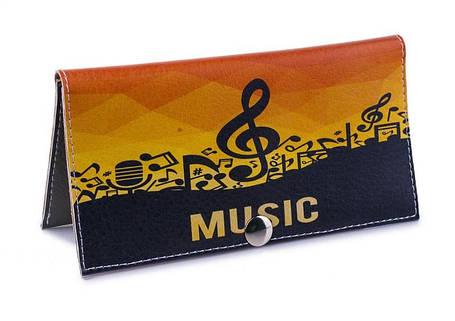 Женский кошелек -Music-. Ручная работа, фото 2
