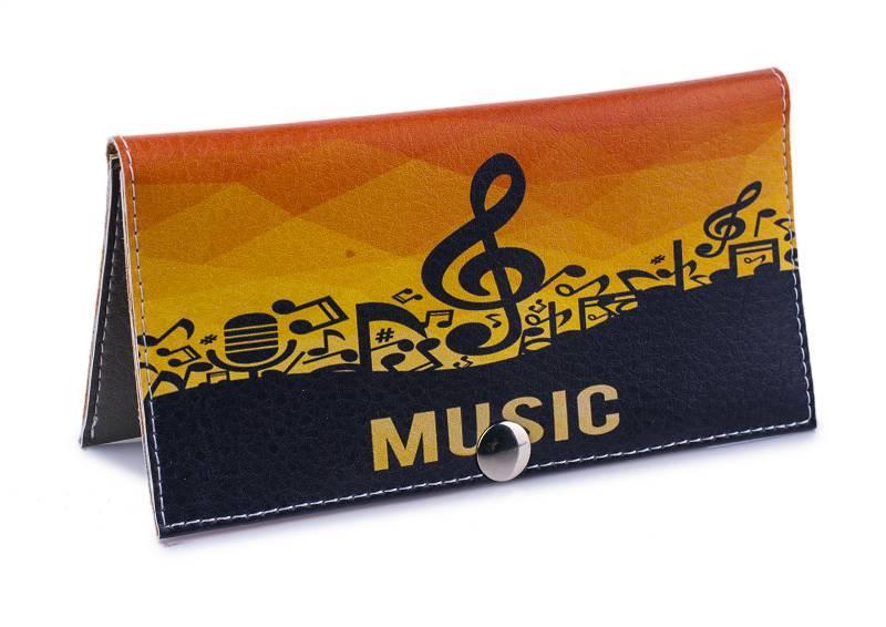 Женский кошелек -Music-. Ручная работа