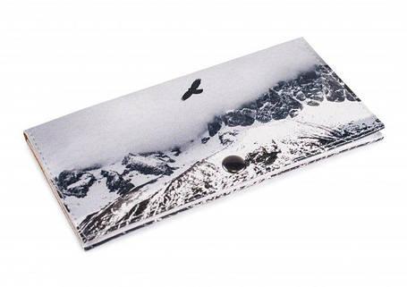 Женский кошелек -Полет в горах-. Ручная работа, фото 2