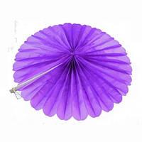 Веерный круг (тишью) 40см (фиолетовый 0021), фото 1