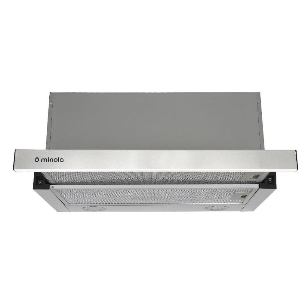 Вытяжка кухонная MINOLA HTL 6312 I 750 LED