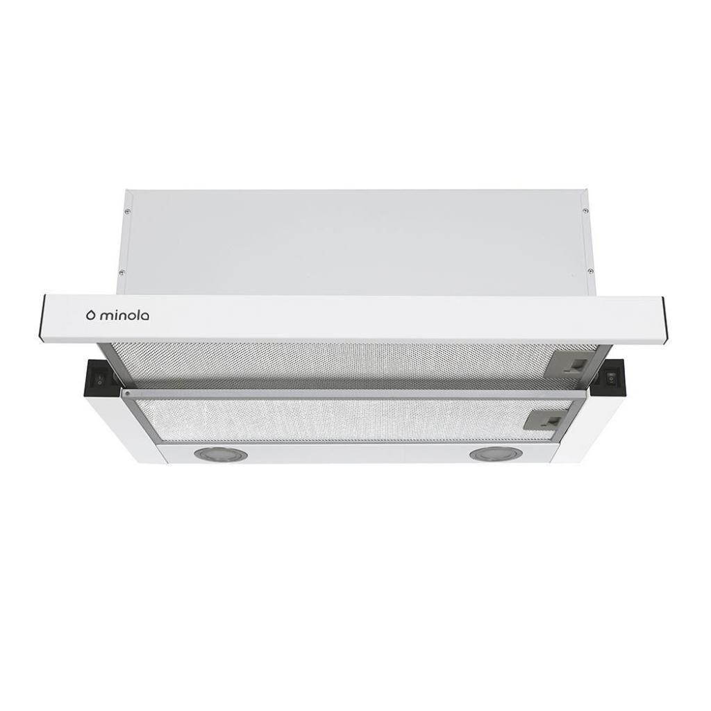 Вытяжка кухонная MINOLA HTL 6312 WH 750 LED