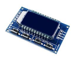 Модуль генератора з ШІМ з відображенням параметрів на РК дисплеї