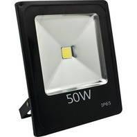 Прожектор светодиодный LL-839 1LED 50W белый 6400K 230V (225*185*48mm) Черный  IP 65