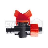 Кран для соединения трубки LDPE и капельной трубки