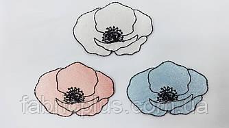 Аппликация (термо) цветы маки