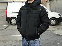 Зимняя мужская куртка Adidas, черная