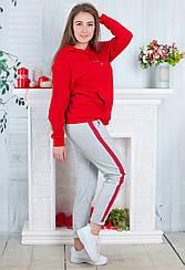 Женские брюки с лампасами, Турция. 2407