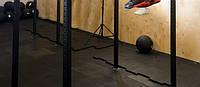 Покрытие для пола тяжелоатлетического зала, пол для кроссфита, фото 1