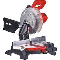 Станок торцовочный по дереву МРТ 2200 Вт, 255х25.4 мм, 4500 об/мин, платформа 0-45* (MMS2503)