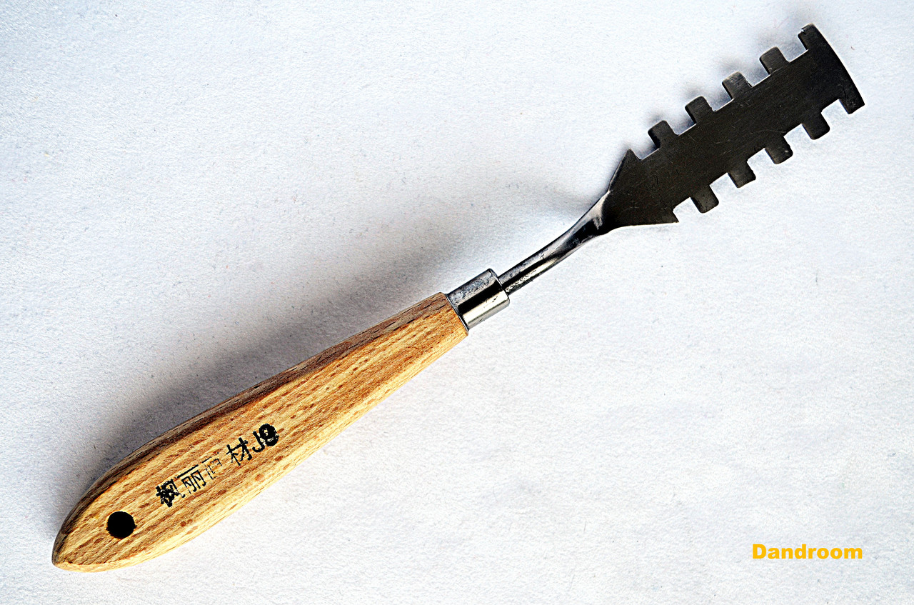 Мастихин №J-9, длина 6,5 см, прямоугольный