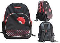 Школьный ортопедический рюкзак Dr.Kong Z10, черный , h=36