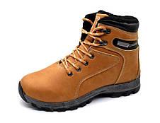 Черевики чоловічі зимові коричневі ботинки мужские, фото 2