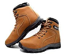 Черевики чоловічі зимові коричневі ботинки мужские, фото 3