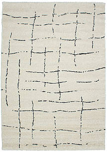 Ковер WOOLSHAGGY-3f W010a 0,8*1,5, CREAM, Прямоугольник