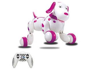 Робот-собака р/у Happy Cow Smart Dog Бело-Черный