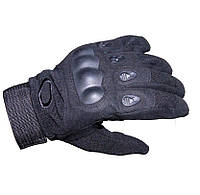 Перчатки тактические полнопалые Oakley 94025 черные