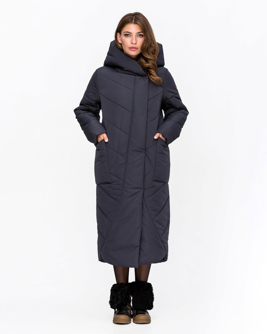 Зимняя куртка удлиненная  с 46 по 58 размер