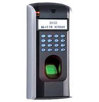 Биометрические системы контроля доступа СКУД ZKSOFTWARE F7