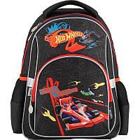 Рюкзак школьный Kite Hot Wheels Чёрный (HW18-513S)