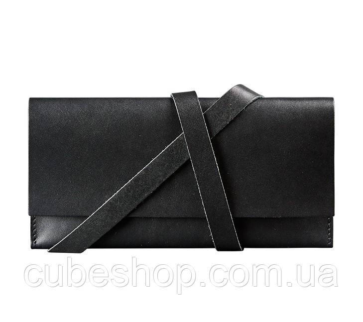 Кожаный Тревел-кейс (черный)