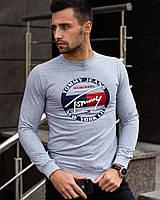 Мужской серый свитшот Томми NYC