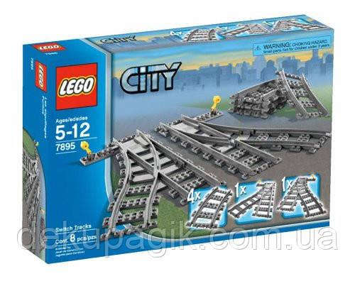 LEGO City Железнодорожные стрелки 7895