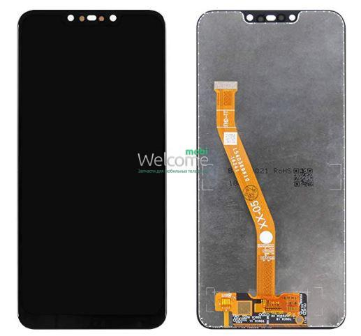Модуль Huawei P Smart Plus/Nova 3i black дисплей экран, сенсор тач скрин