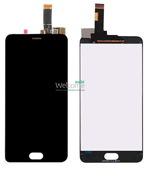 Модуль Meizu M6 black дисплей экран, сенсор тач скрин