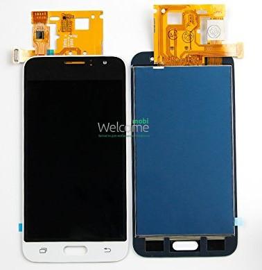 Модуль Samsung Galaxy J1 SM-J120 white дисплей экран, сенсор тач скрин