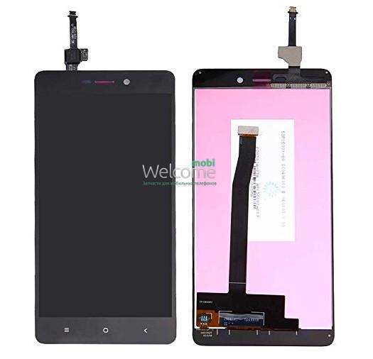 Модуль Xiaomi Redmi 3/3S/3X/3S Prime black дисплей экран, сенсор тач скрин