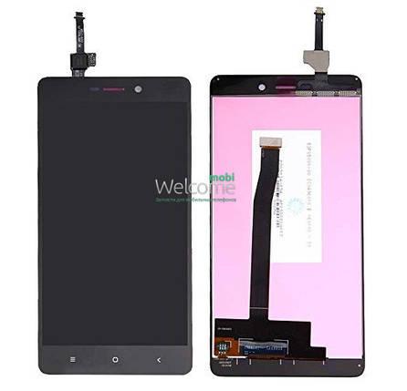 Модуль Xiaomi Redmi 3/3S/3X/3S Prime black дисплей экран, сенсор тач скрин, фото 2