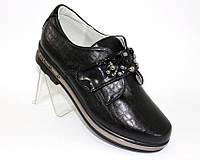 Красивые туфли на липучках для девочки, фото 1