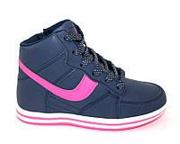 Осенние высокие кроссовки для девочки, фото 1