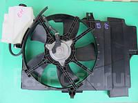 Мотор охлаждения радиатора Nissan Note E11 Б/У
