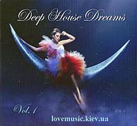 Музичний сд диск DEEP HOUSE DREAMS vol. 1 CD1 (2012) (audio cd)