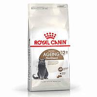 Корм Royal Canin Sterilised 12+, для стерилизованных кошек с 12 лет, 0,4кг