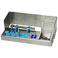 Подставка для имплантов N2 для 13 инструментов и 1 динамометрического ключа, 500501